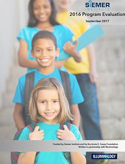 Siemer Institute 2016 Evaluation Report