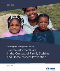 Siemer Institute - Defining Trauma-Informed Care